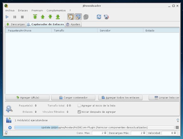 Instalar Jdownloader en Linux
