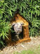 chien* dans sa niche
