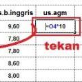 Rumus Mengubah Nilai Satuan Menjadi Puluhan Di Excel
