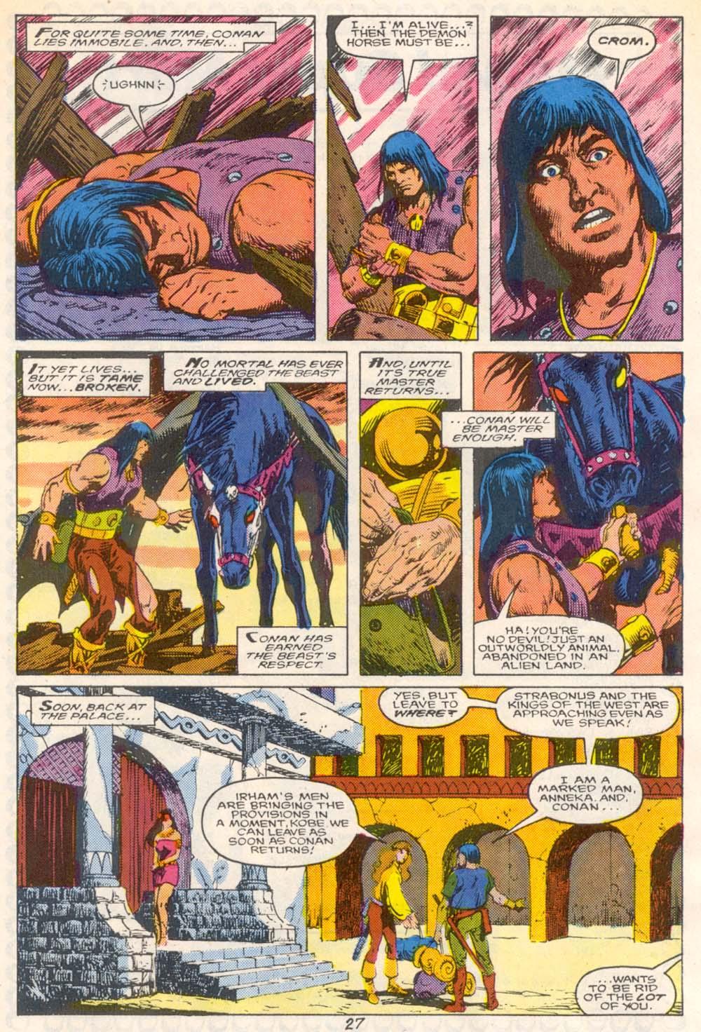 Conan the Barbarian (1970) Issue #209 #221 - English 21