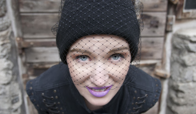 veiled beanie, Jil Sander, Stephan Jones, Lime Crime