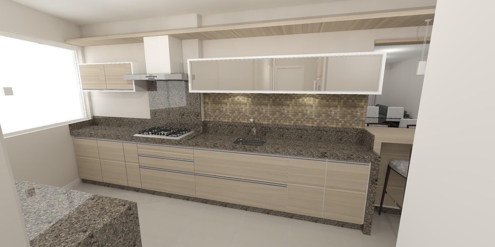 #766955 Sekai Projetos e Interiores: Sala e cozinha conjugadas 1600x800 px Projetos De Salas E Cozinhas Conjugadas #823 imagens