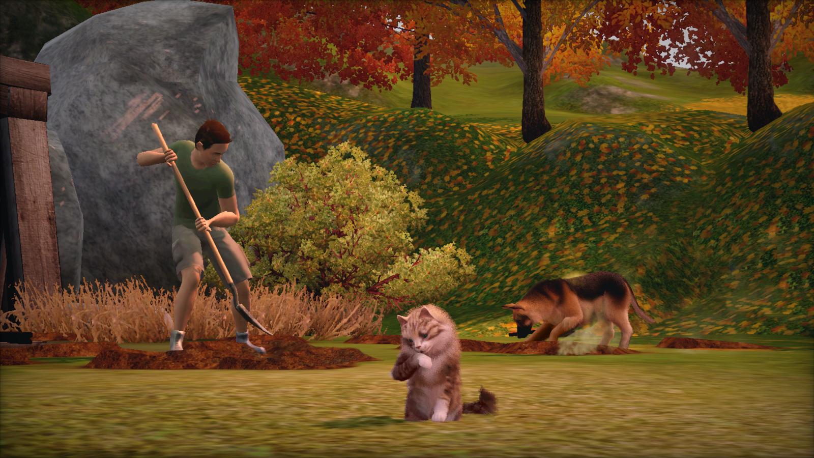 Sims 3 pets mod nackt photo