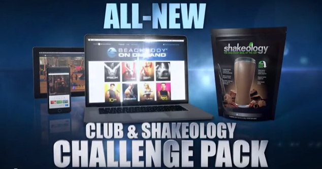 Club and Shakeology Challenge Pack - Beachbody on Demand