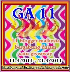 GA 11 - HADIAH PENGHARGAAN