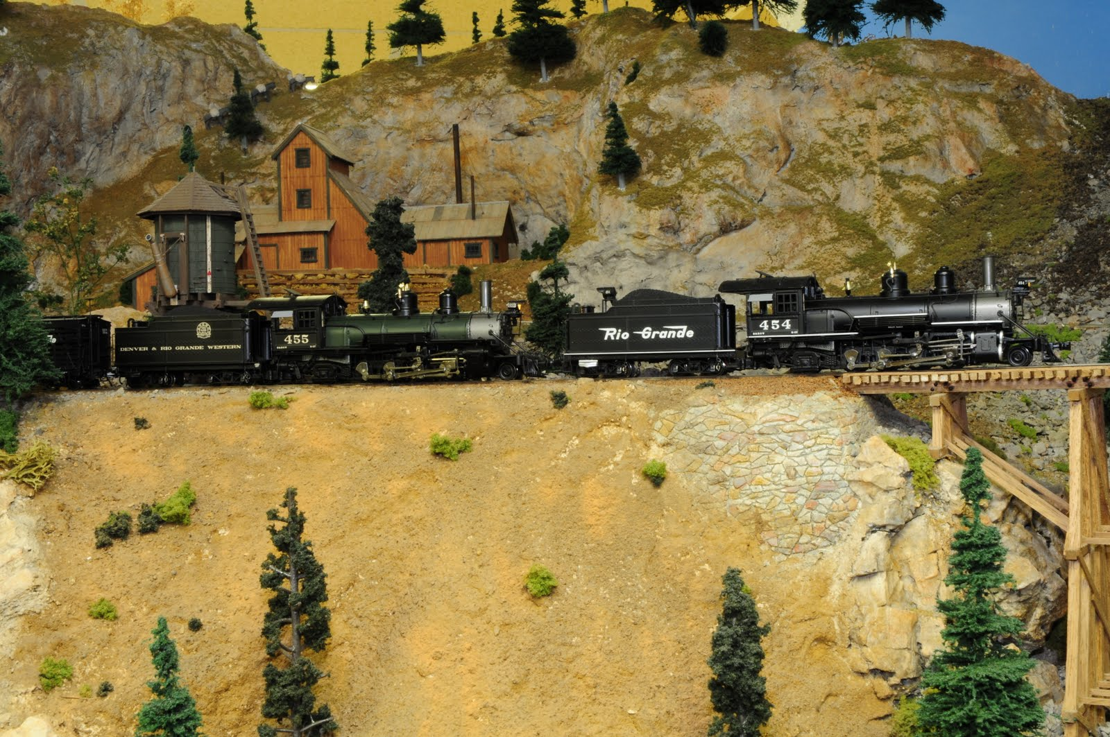 Modeling Colorado Narrow Gauge In Hon3 Dcc For The D Rgw Double Track Wiring Allows Prototypical Helper Service Locomotive Can Be Cut Into Train At Any Location Two Locomotives Then Consisted And Run As