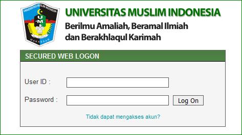 Mengisi krs online UMI
