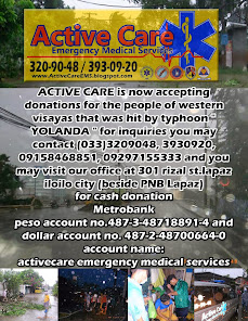 Help for Victims of Typhoon YOLANDA