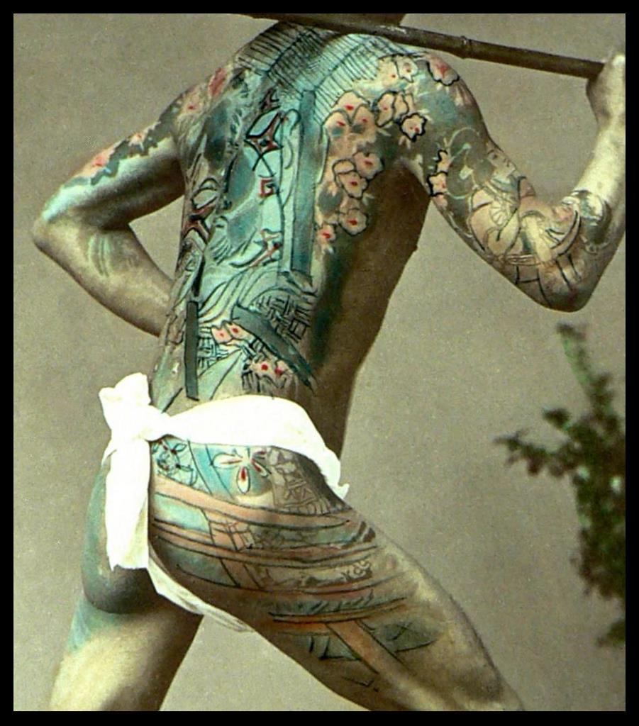 World of old japanese tattoos circa late 1880s vintage for 19th century tattoos