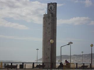 Figueira da Foz Beach Big Clock  photo - Portugal