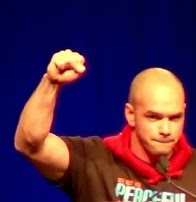 Tim DeChristopher at Powershift 2011.