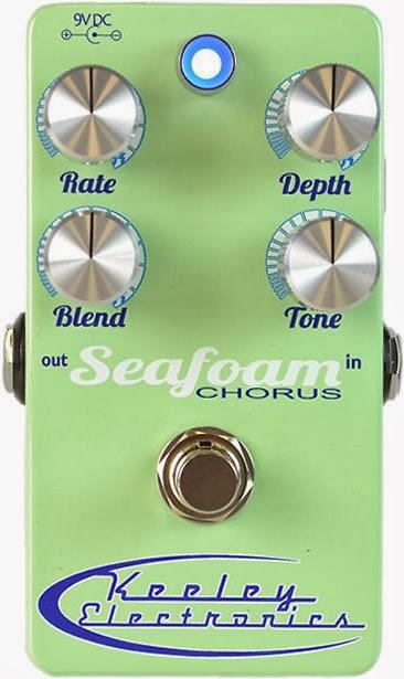 Keeley Seafoam Chorus Pedal Effect
