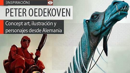 Concept art e ilustración de PETER OEDEKOVEN