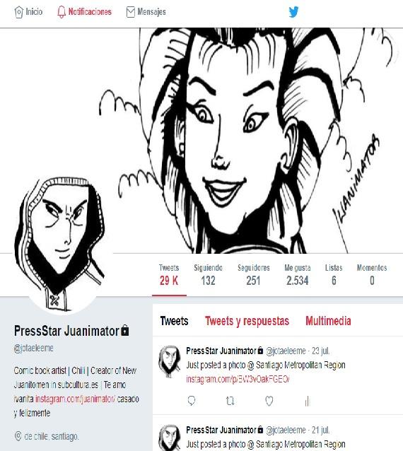 Mi cuenta de twitter oficial