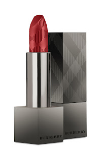 burberry beauty lip velvet military red