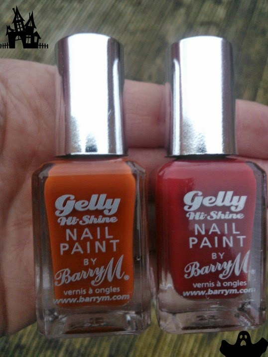 Barry M Gelly autumn/winter nails Paprika Chilli