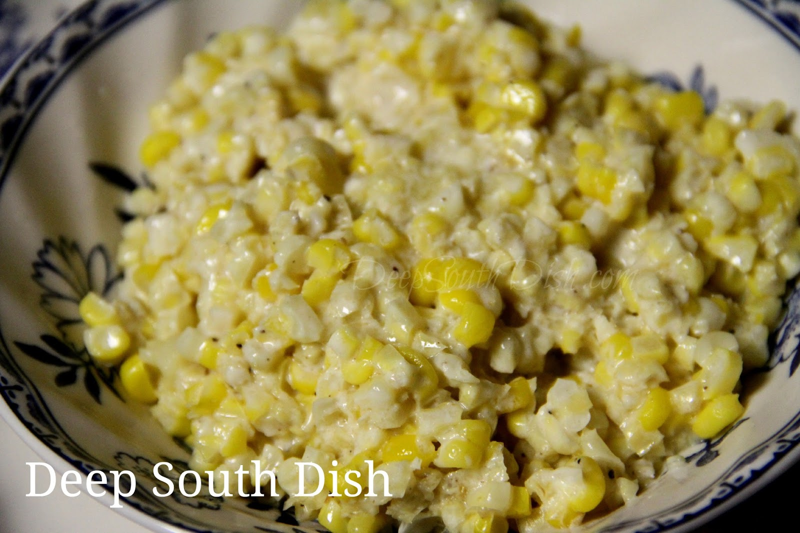 Deep South Dish: Southern Style Creamed Corn