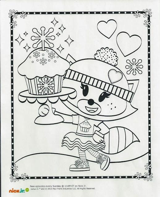 julius jr printable coloring pages - photo#10