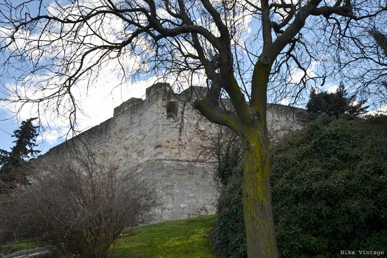 zamora, vista, castillo, fotografia