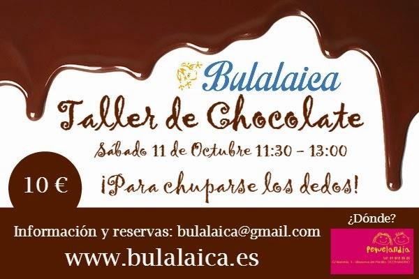 Taller de Chocolate Bulalaica