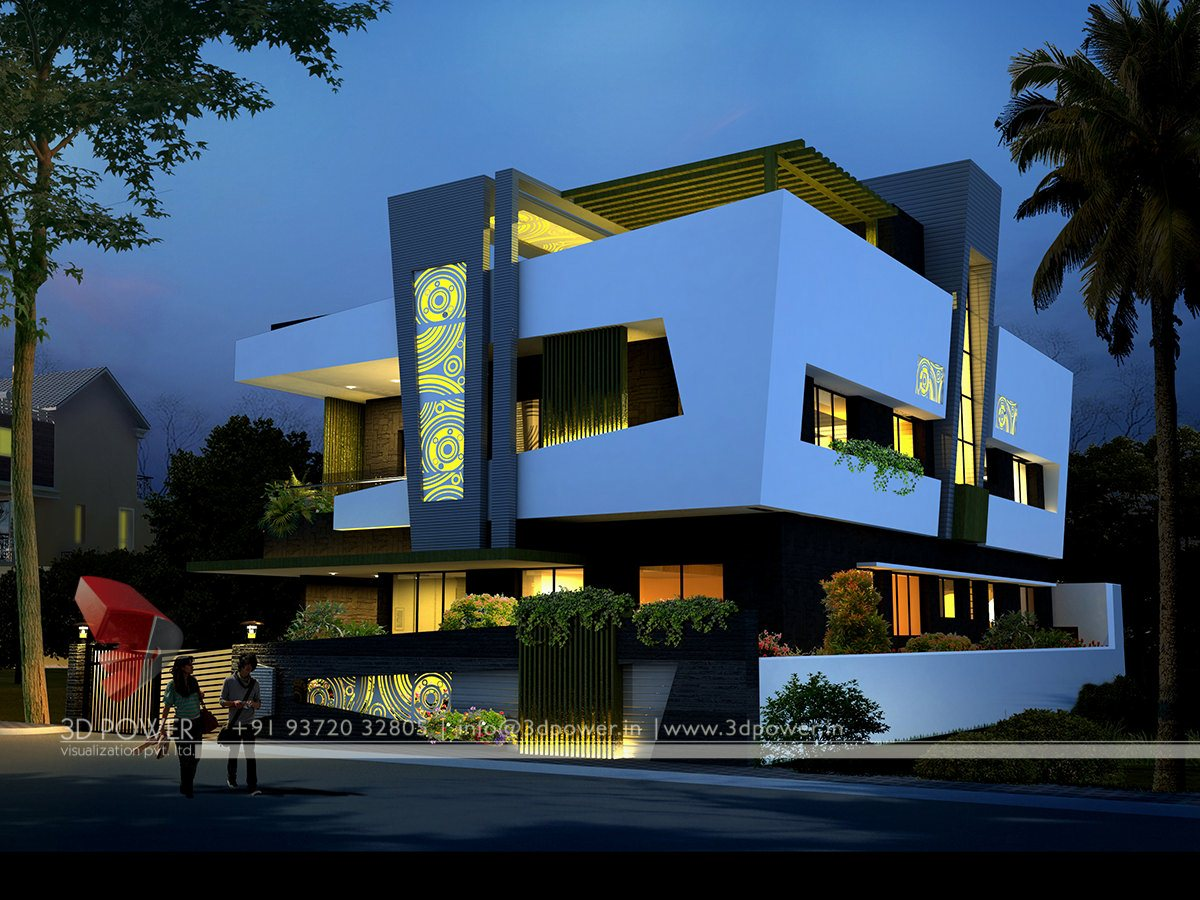 3d animation 3d rendering 3d walkthrough 3d interior for Design della casa bungalow