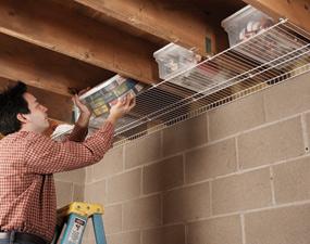 By your hands organize storage ideas for Opbergsysteem schuur