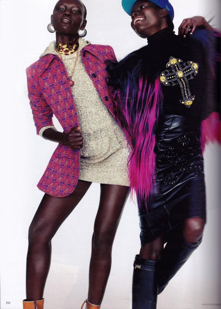 MODEL SCOOP: Jasmine Tookes, Jeneil Williams, Grace Bol, & MORE For Vogue Germany September 2012