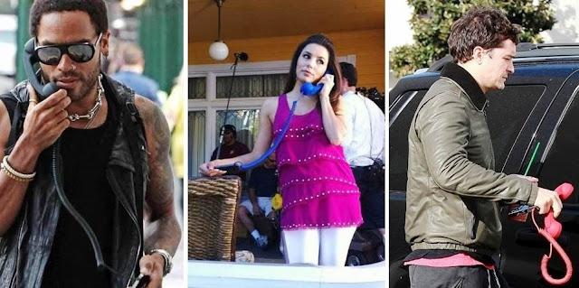Lenny Kravitz, Eva Langoria e Orlando Bloom