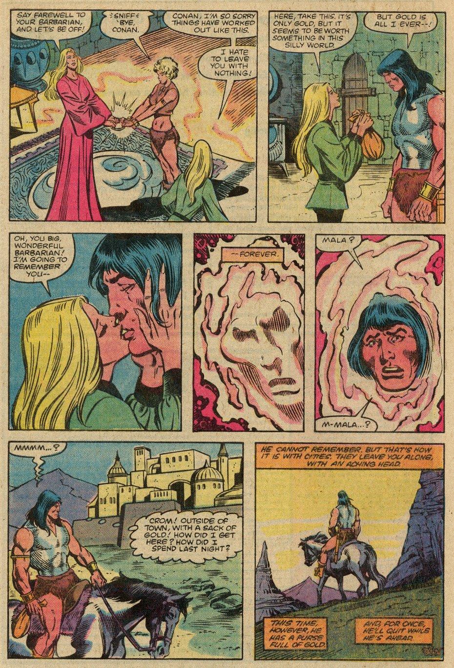 Conan the Barbarian (1970) Issue #146 #158 - English 26