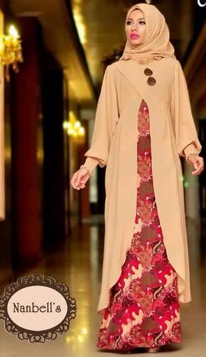 Tren Baju Muslim Batik Modern
