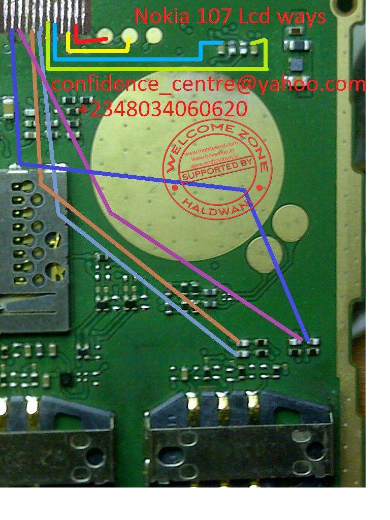 nokia schematic diagram nokia image wiring diagram nokia 107 full jumper solutions ways on nokia 107 schematic diagram