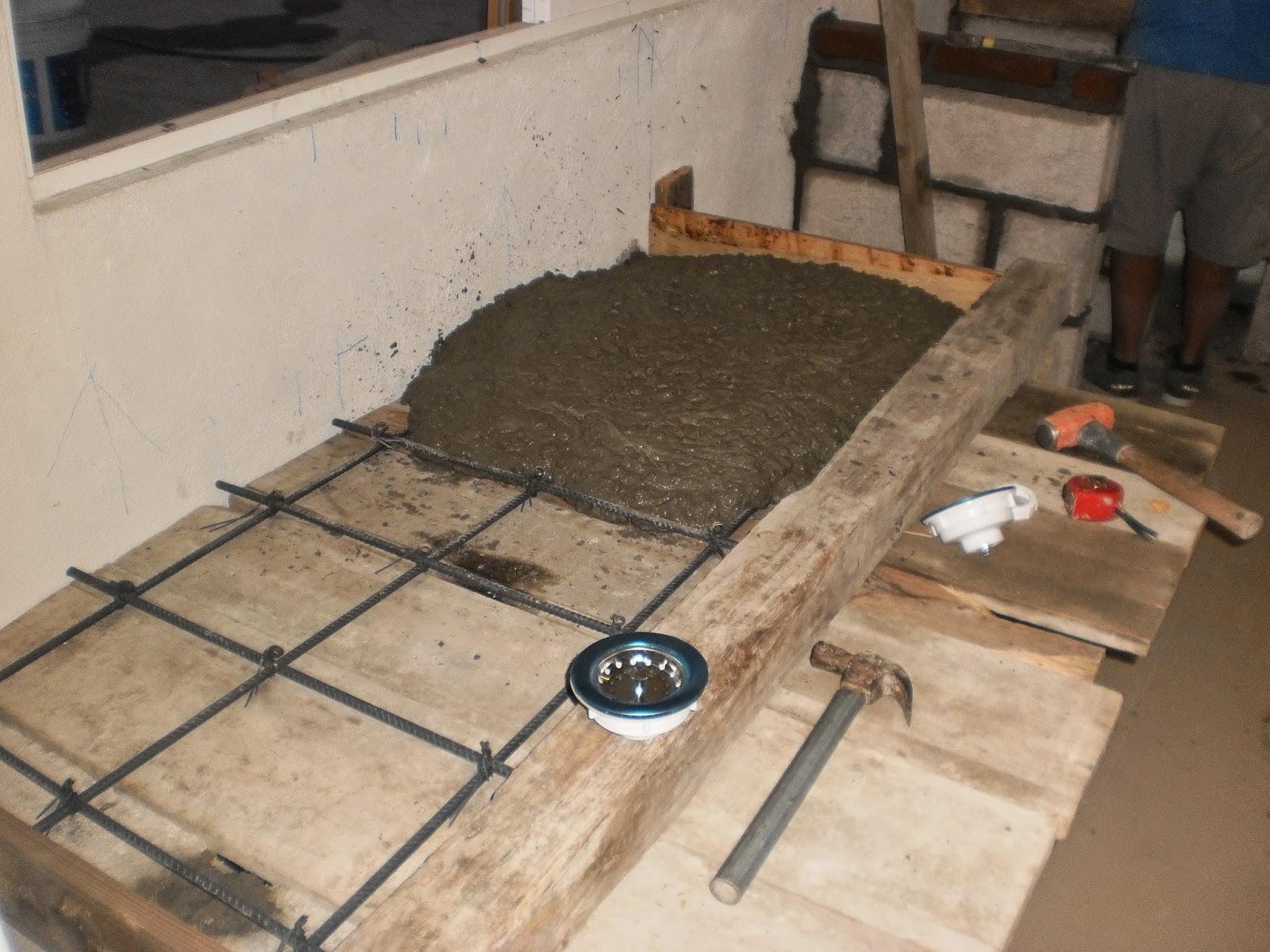 Instalaciones profesionales reyes estrada enero 2015 for Barras de cocina de concreto