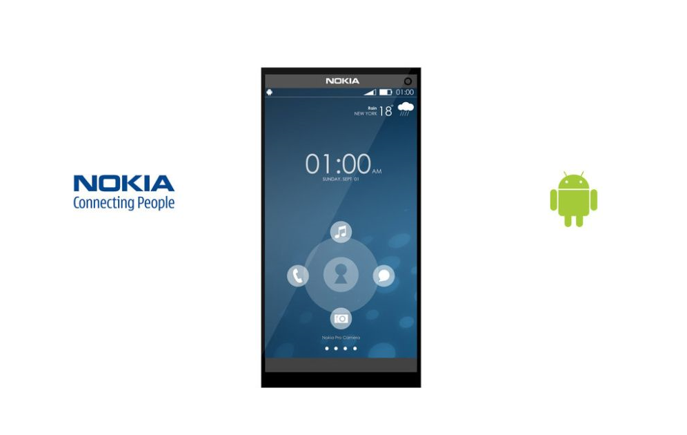 Nokia in the race of Android Smartphones …