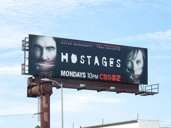 Hostages series 1 billboard