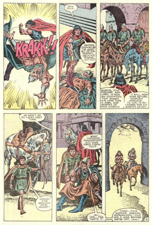 Conan the Barbarian (1970) Issue #182 #194 - English 7