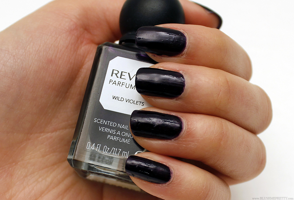 Revlon Perfumerie Nail Polish Swatch Review Wild Violets Bordeaux