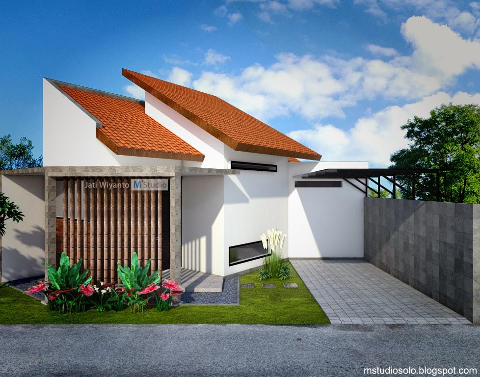 rumah tipe 40 di lahan segitiga majalah rumah