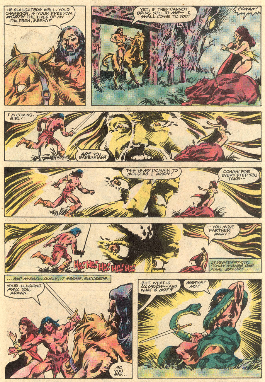 Conan the Barbarian (1970) Issue #135 #147 - English 20