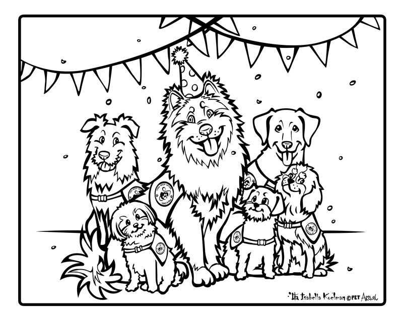 The coloring page made by Isabella Koelman. title=