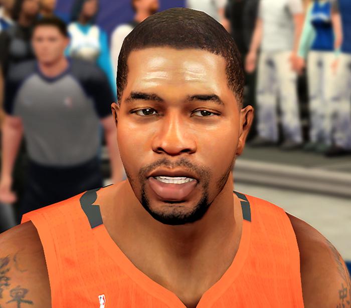 NBA 2K14 Markieff Morris Next-Gen Face Mod