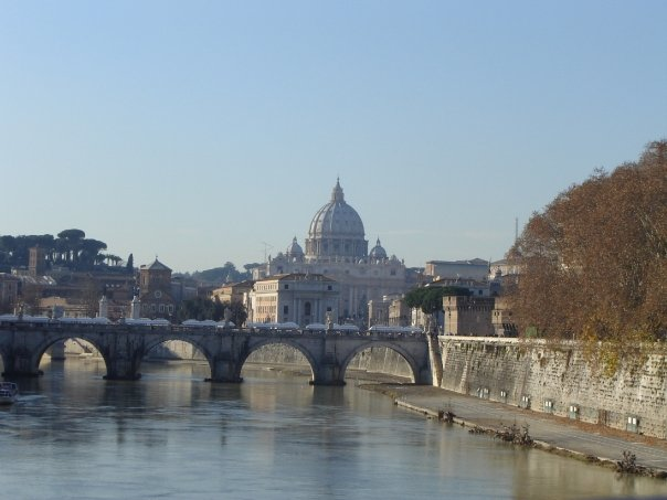 Photo - The Old Neighborhood, Rome, Vatican in view