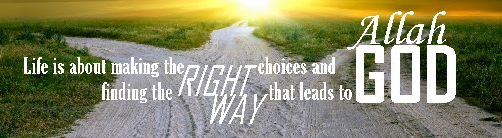 Life is about making the right choices and finding the right way that leads to God Allah. Allah knows best. Wasalaam :)