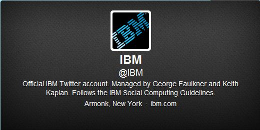 Best Cool Twitter Headers IBM International Business machine corporation