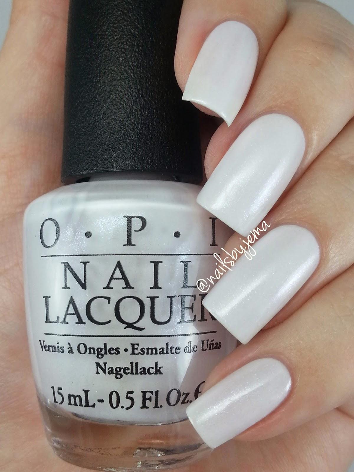 Sheer White Nail Polish Opi