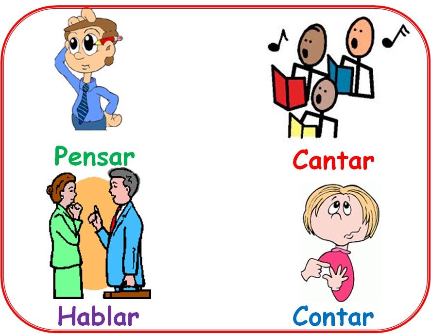 Aprendiendo de la lengua castellana: Los verbos