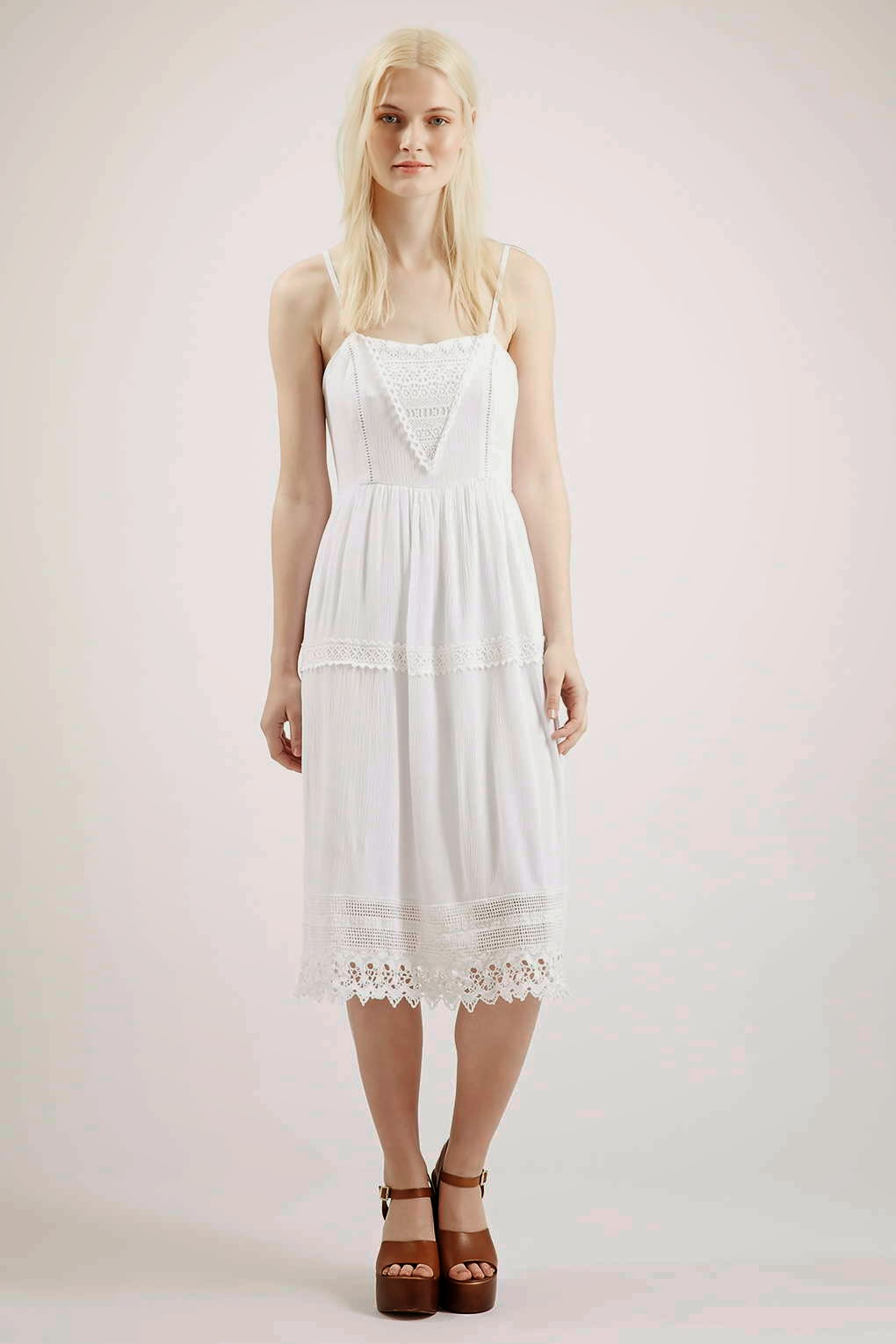 white lace sundress, glamorous white sundress,