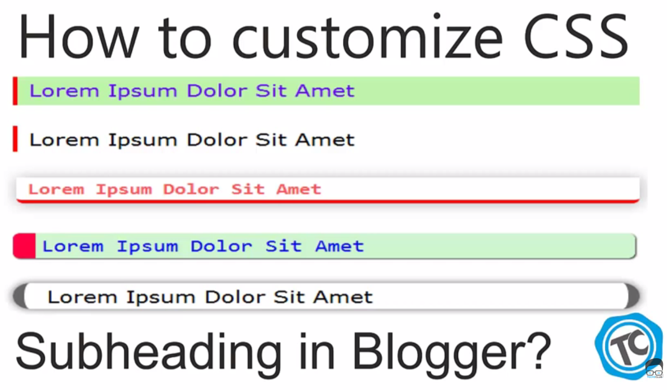 How to Customize CSS Header Style in Blogger?
