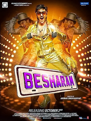 Download Besharam (2013) Bollywood Movie Free HD High Quality MP4 AVI 720p Direct Link