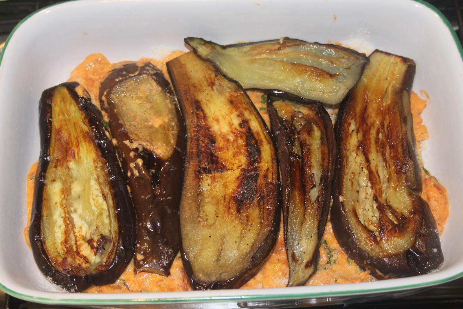 La cuisine de bernard lasagnes aux aubergines - Aubergine grillee a l italienne ...