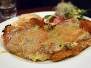 Classic chicken parmigiana image